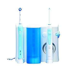 modele combine d'un jet dentaire propulseur d'eau