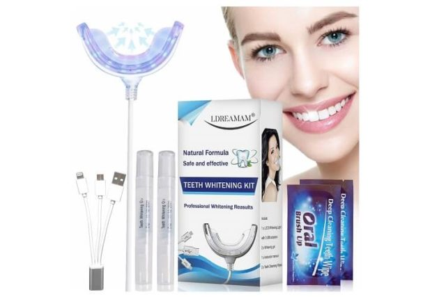 Kit blanchiment dentaire LDREAMAM, votre sourire devient plus brillant!