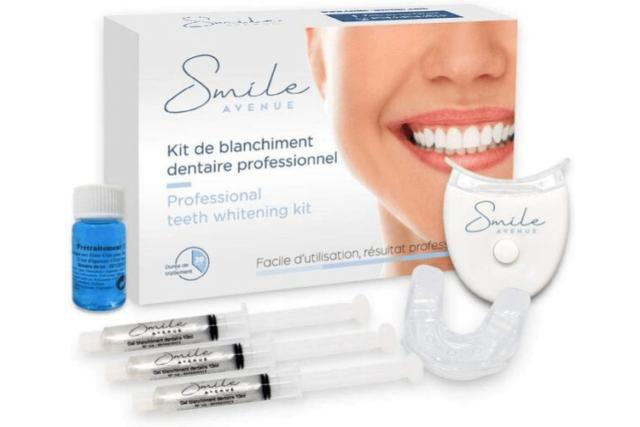 Kit blanchiment dentaire Smile Avenue, la qualité professionnelle pour des dents blanches